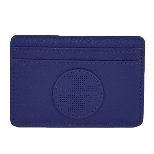 Tory Burch Tory Burch Women's Robinson Saffiano Slim Business Card Case Blue Nile