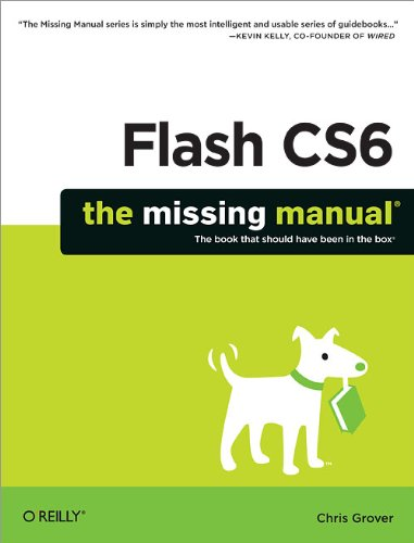 Flash CS6: The Missing Manual portable digital version ebook free download