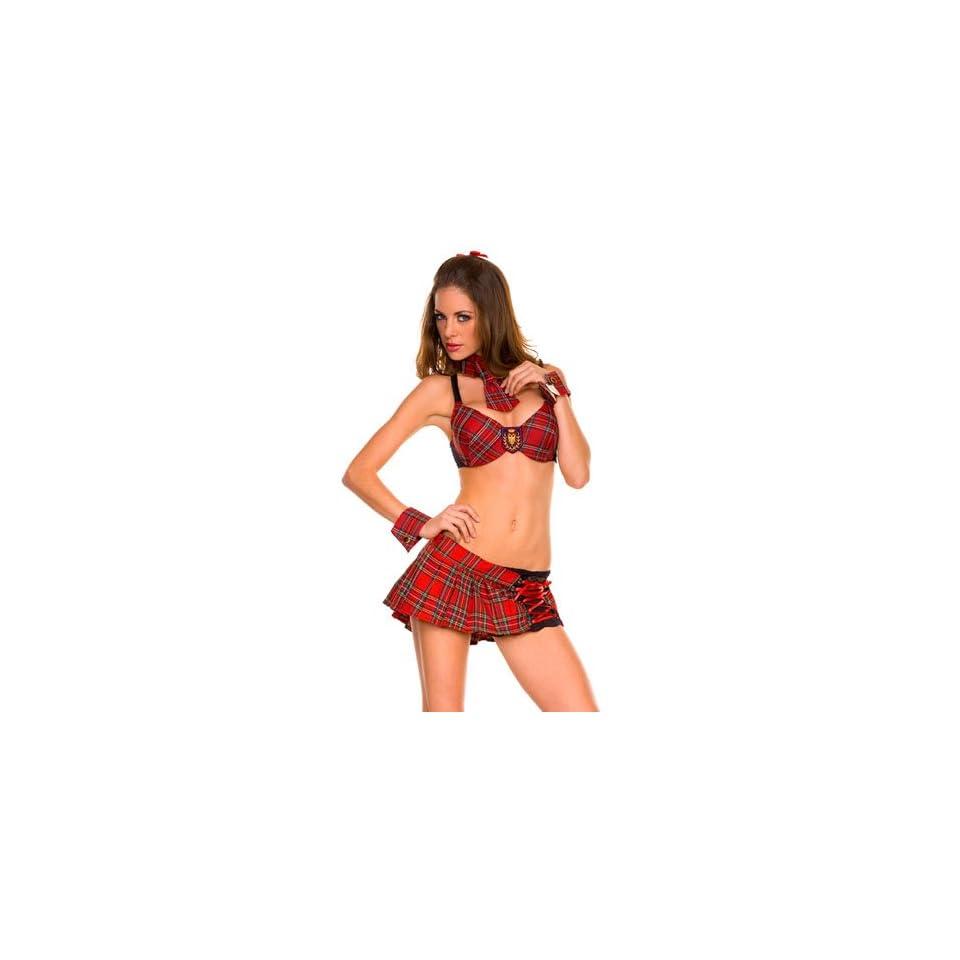 Sexy Reform Naughty High School Girl Costume   SMALL/MEDIUM