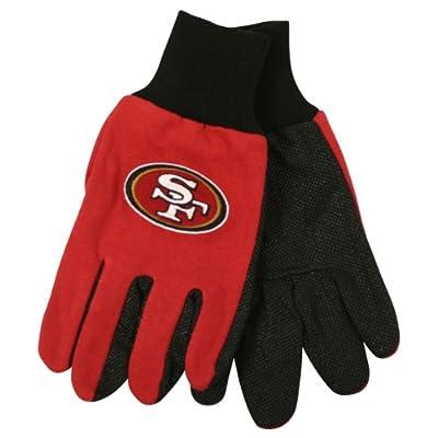 NFL Team Logo Grip Gloves - San Francisco 49ers