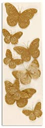 Martha Stewart Crafts Golden Butterfly Stickers By The Package