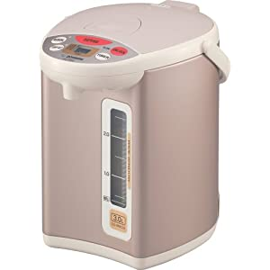 Zojirushi CD-WBC30 Micom Electric 3-Liter Water Boiler and Warmer, Champagne Gold