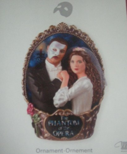 Carlton Cards Phantom of the Opera Ornament 1st in the Series 2007