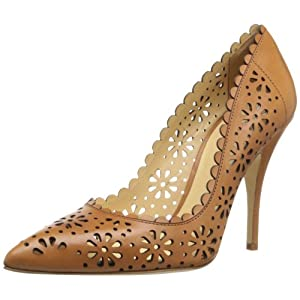 kate spade new york Women's Lana Dress Pump,Light Camel/Soft Vacchetta,6.5 M US
