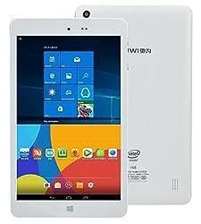 Chuwi 8-Inch Tablet PC (White) - (Intel Z3736F Quad Core 2.16 GHz, 2 GB RAM, 32 GB HDD, Windows 10)