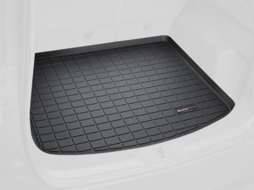 WeatherTech Custom Fit Cargo Liners for Porsche Cayenne, Black (2006 Cayenne Weathertech compare prices)