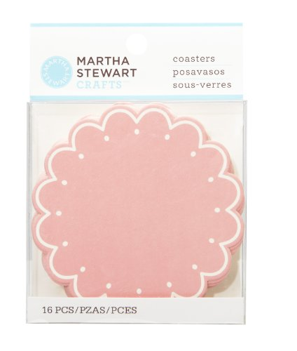 Martha Stewart Crafts Vintage Girl Coasters