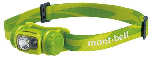 モンベル(mont-bell) ヘッドランプ コンパクトヘッドランプ フレッシュグリーン 1124587-FRGN