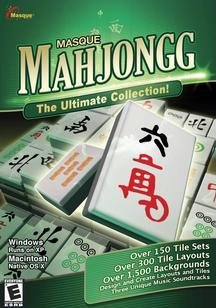 Masque Mahjongg  Windows MacintoshB0000TBASC