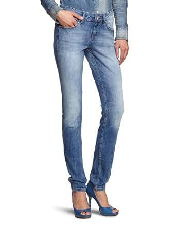 Mexx - Jean - Coupe Droite - Femme - Bleu (456) - FR : 26W (Taille fabricant : 26)
