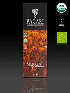 Pacari Ecuadorian Organic Chocolate Merken Slightly Spicy - Aji Ahumado 176-ounce Pack Of 5 from Pacari Ecuadorian Organic Chocolate
