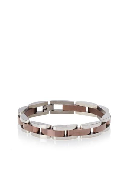 BlackJack Chocolate-Plated Link Bracelet
