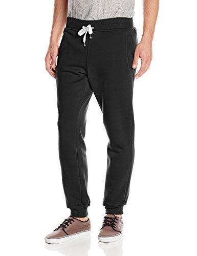 Southpole Men's Active Basic Jogger Fleece Pants,Black,Medium (Men Jogger Pants compare prices)