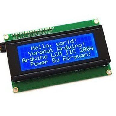 Commoon New 2004 204 20X4 Character Lcd Module Display For (For Arduino) Serial Iic/I2C/Twi