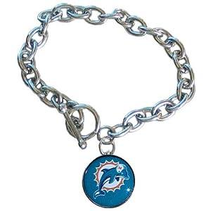 Siskiyou NFL Miami Dolphins Charm Bracelet at Sears.com