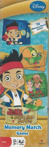 Memory Match Game Jake and The Never Land Pirates - 1