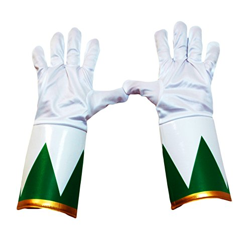 Power Rangers Green Ranger Costume Gloves Adult One Size