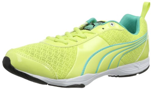 Puma Womens Flextrainer NM Wn's Outdoor Fitness Shoes Yellow Gelb (electric green-sunny lime 02) Size: 38