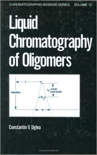 Liquid Chromatography of Oligomers (Chromatographic Science Series)