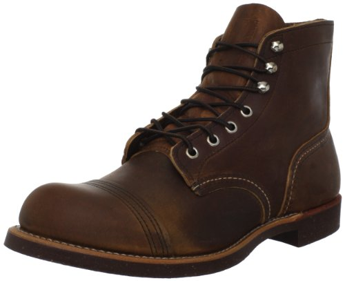 Red Wing Heritage 6 Inch Iron Ranger Boot,Copper,11.5 D US