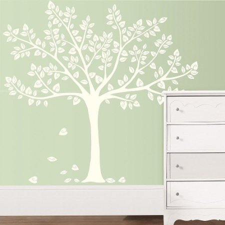 Koala Baby Silhouette Tree Wall Art Kit - 1