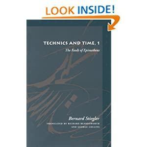 bernard stiegler technics and time pdf