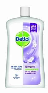 Dettol Liquid Soap Jar, Sensitive - 900 ml