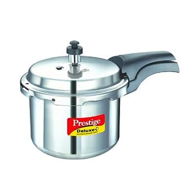 Prestige Deluxe Plus Aluminium Pressure Cooker 3 Litres