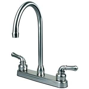 Rv Mobile Motor Home Kitchen Sink Faucet Swivel Spout