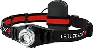 LED Lenser 880038 H5 LED Headlamp, Black/Red