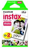 Fujifilm Instax Mini Instant Film, 30 sheets BUNDLE Includes Qty 1 Instax Mini Twin 10 Sheets x 1 Pack = 20 Sheets + Instax Mini Single 10 Sheets