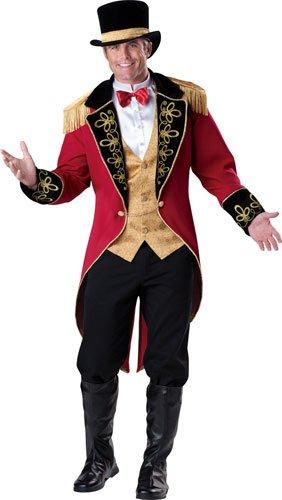 Mens Circus Ringleader Funny Halloween Costume