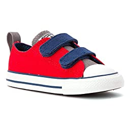 Converse Unisex Baby Chuck Taylor All Star 2V Ox (Inf/Tod) - Casino/Mason/Midnight Hour - 3 Infant