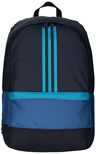 Adidas-Zaino 3Stripe Versatile Azzurro Taglia unica