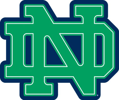 Roommates Rmk1963Gm University Of Notre Dame Giant Peel And Stick Wall Decals front-108901
