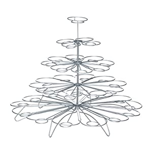 Ciroa Miniamo Wire Cupcake Tree Stand for 36 Cakes