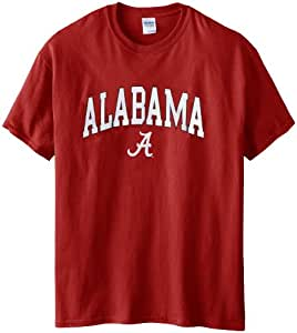 NCAA Alabama Crimson Tide Gildan T-Shirt, Small, Crimson