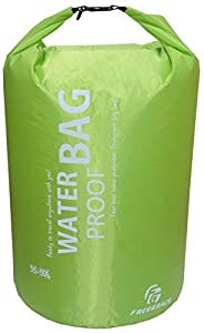 Freegrace Ultimate Lightweight Dry Sack - Dry Bags (Fluorescent Green, 35-50L)