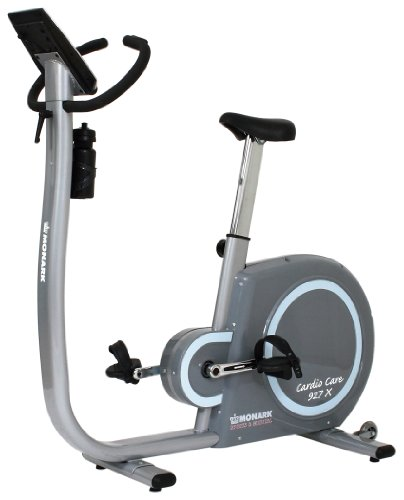 Monark Exercise AB 927X Upright Cardio Comfort Bike with Electronic Display