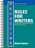 Rules for Writers, 5th Edition (0312406851) by Diana Hacker