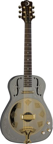 Luna Folk Series Steel Magnolia Resonator Guitar