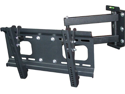 Adjustable Tilting/Swiveling Tv Wall Mount Bracket For Lcd Led Plasma (Max 88 Lbs, 23~37 Inch) - No