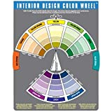 Interior Design Color Wheel Helps You Harmonize You Interior Design Projects. (Pkg. of 2) - B000KMENJM