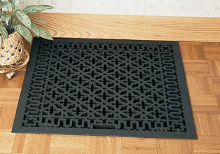 "24""X6"" Floor Metal Grille - Scroll Design Cast Aluminum (826Ah) Rr"