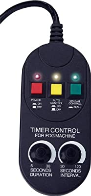 Party Destination Fog Machine Timer Control by Intertek