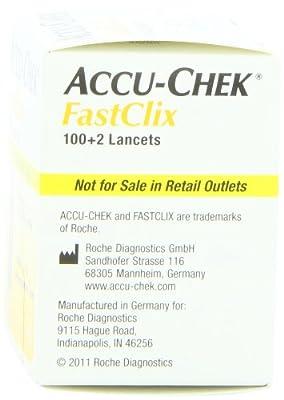 Accu-Chek Fastclix Lancets