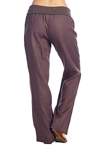 Amazing Cool Women Fashion Stitching Color Folded Harem Pants