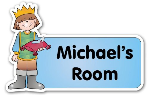 Personalised Prince Door Plaque