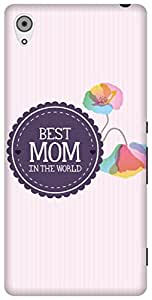 The Racoon Lean Best Mom hard plastic printed back case/cover for Sony Xperia Z4