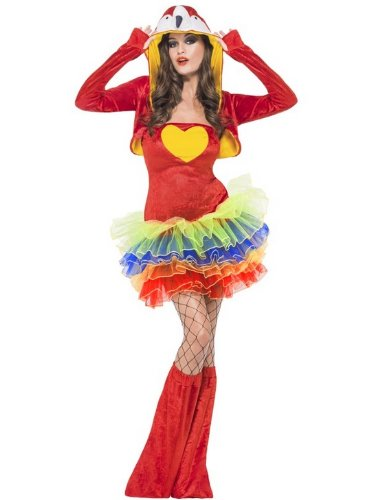 Fever Birds Of Paradise Parrot Costume